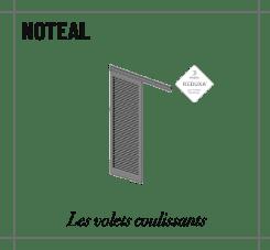 profile noteal panneau d'occultation