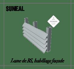 profilé suneal habillage façade
