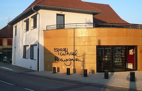 photo de l'espace culturel de romagnieu équipée de BSO et de coulissants noteal