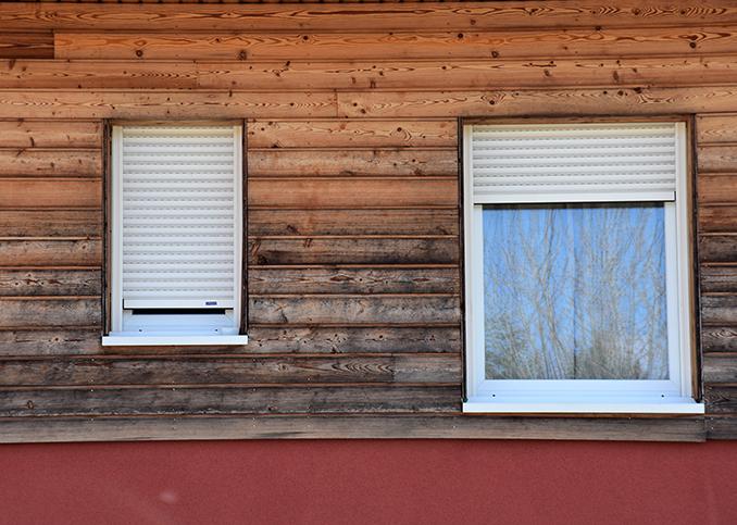 fenêtres pvc avec volets roulant